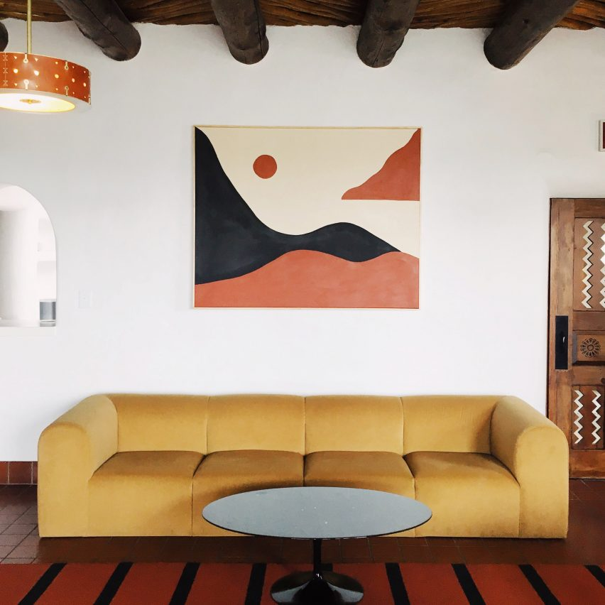 "El Rey Court Motel In Santa Fe Is Redesigned To ""showcase Its Bones"""
