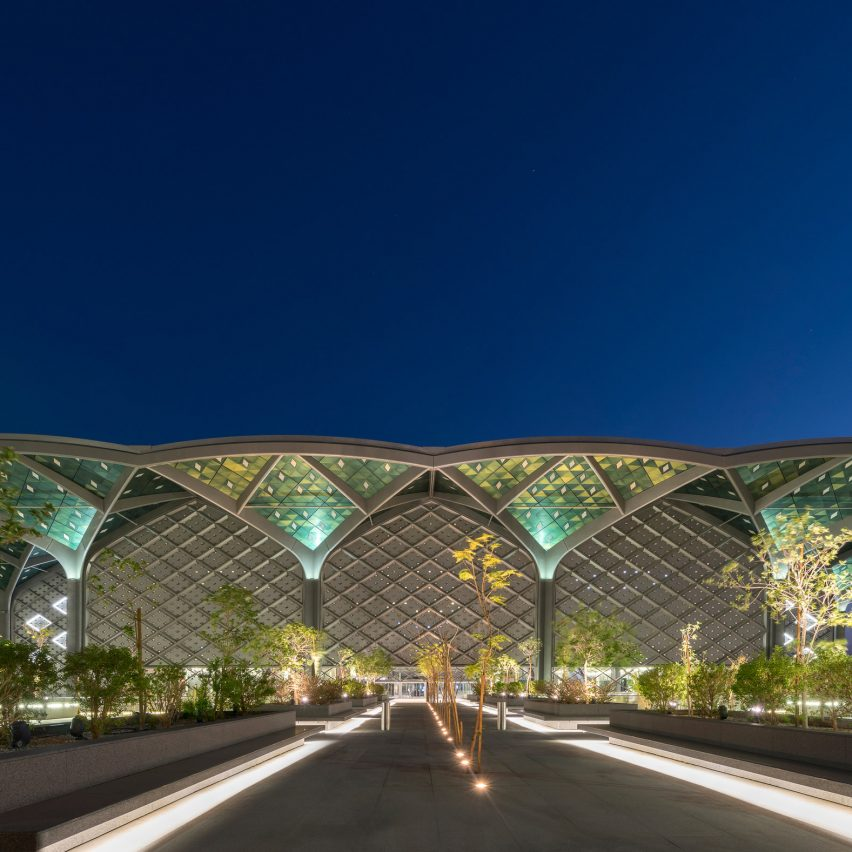 High-speed stations in Mecca, Medina, Jeddah and King Abdullah Economic City, Saudi Arabia by Foster + Partners