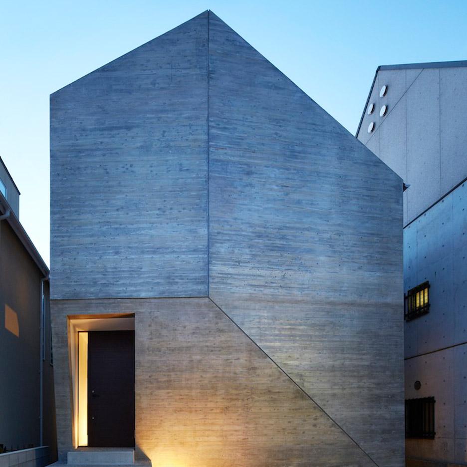 Japanese houses: Shirokane House by MDS