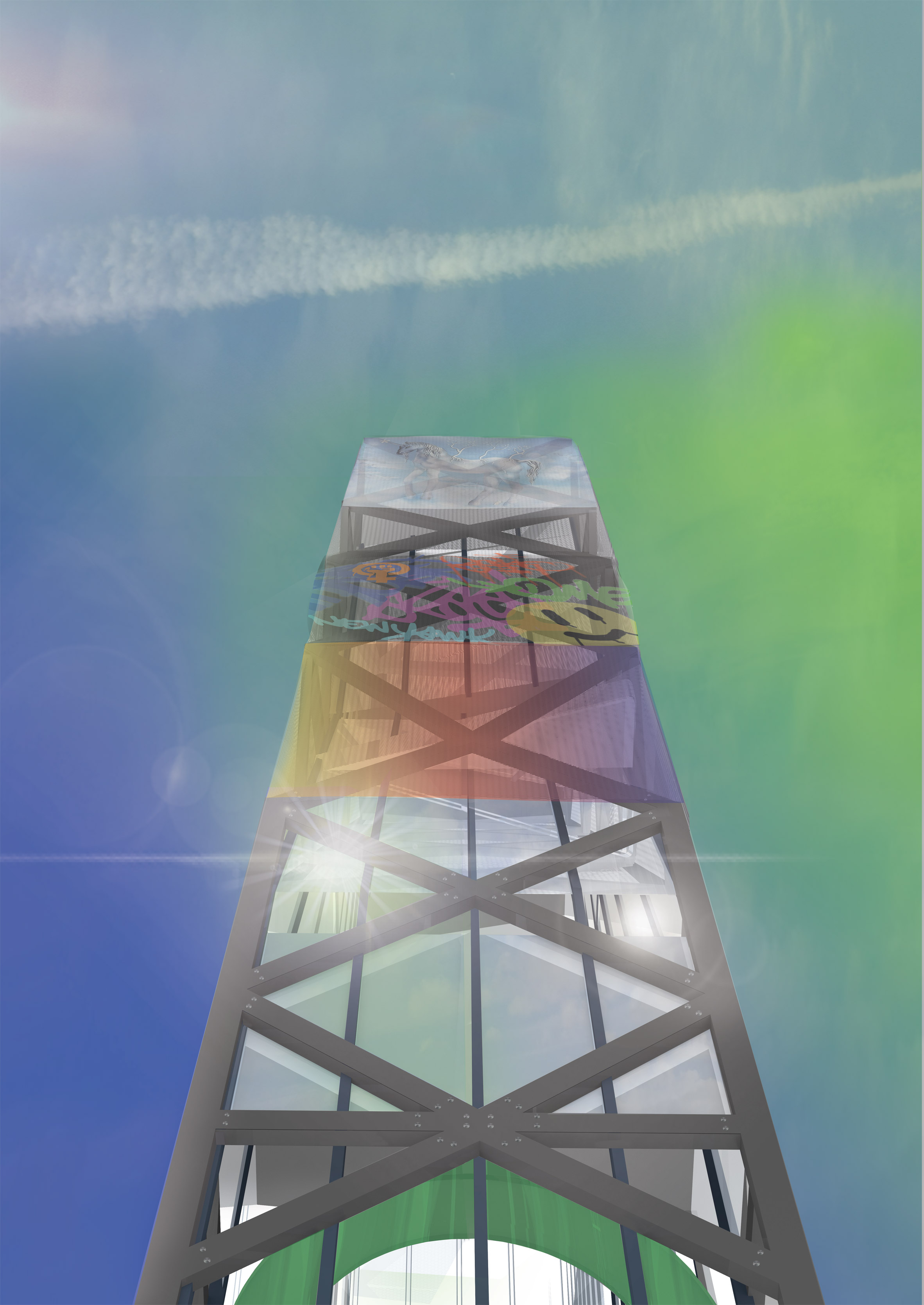 """James Parkes designs high-rise for women """"burdened by capitalism"""""""