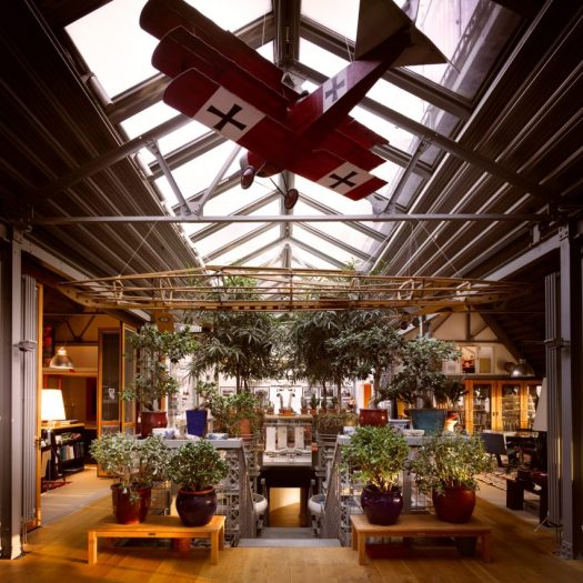 Terry Farrell flat for sale in Old Aeroworks factory, Marylebone, London