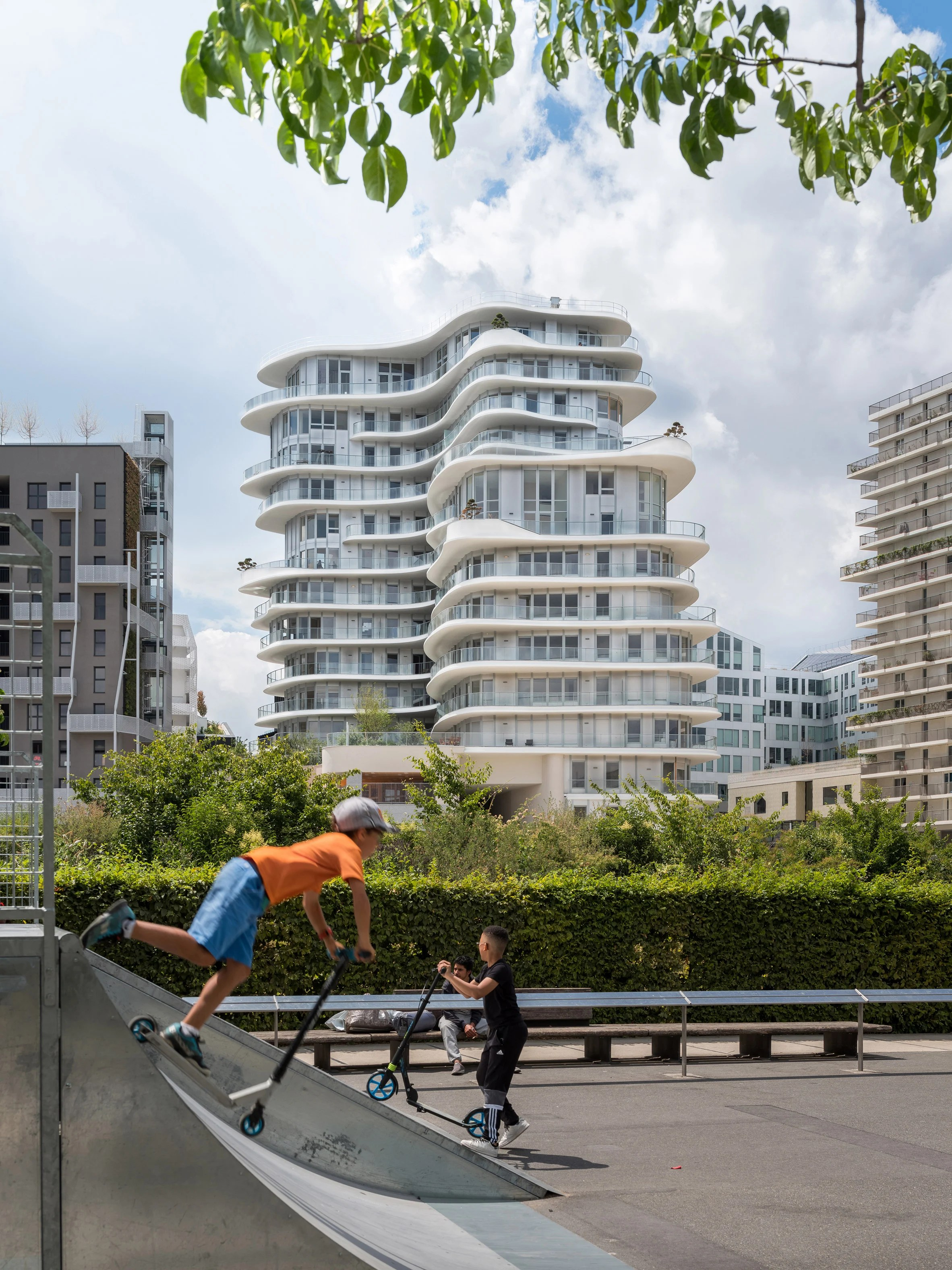 UNIC apartment tower in Paris by MAD and Biecher Architectes