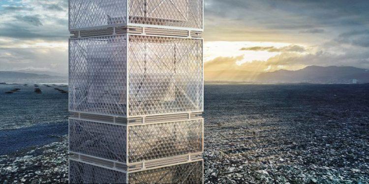Filtration skyscraper by Honglin Li