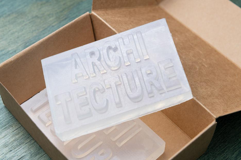 Yujia Bian creates architecture soap for Oslo Architecture Triennale