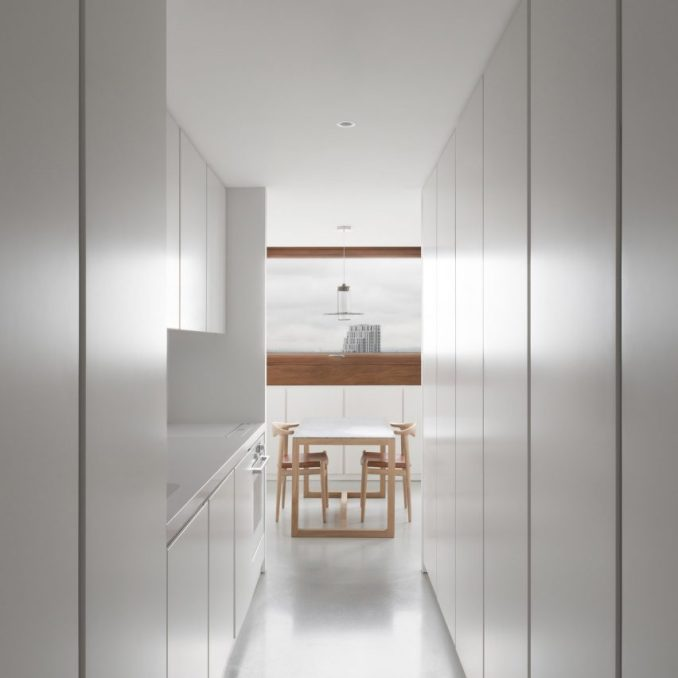 Minimalist Barbican apartment by John Pawson