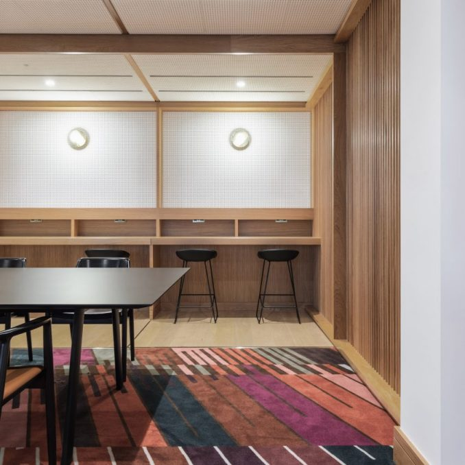 British Library members study room by White Red Architects
