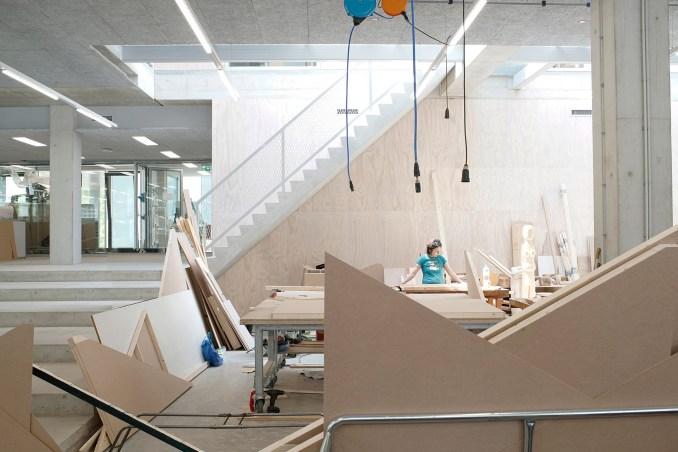 Gerrit Rietveld Academy by Studio Paulien Bremmer and Hootsmans Architecten