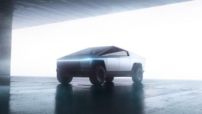 Cybertruck Tesla electric pickup truck