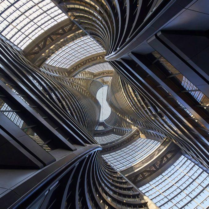 Leeza Soho tower by Zaha Hadid Architects in Beijing, China