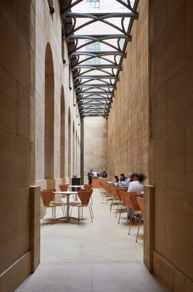 Philadelphia Museum of Art phase one by Frank Gehry