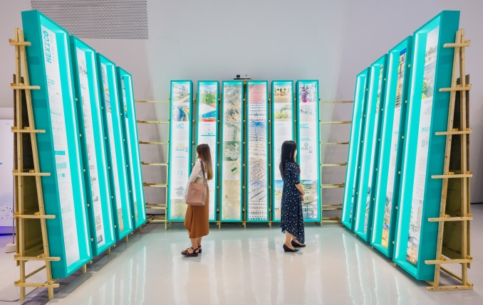 "Thematic exhibition explored the ""collective city"" at the Seoul Biennale 2019"