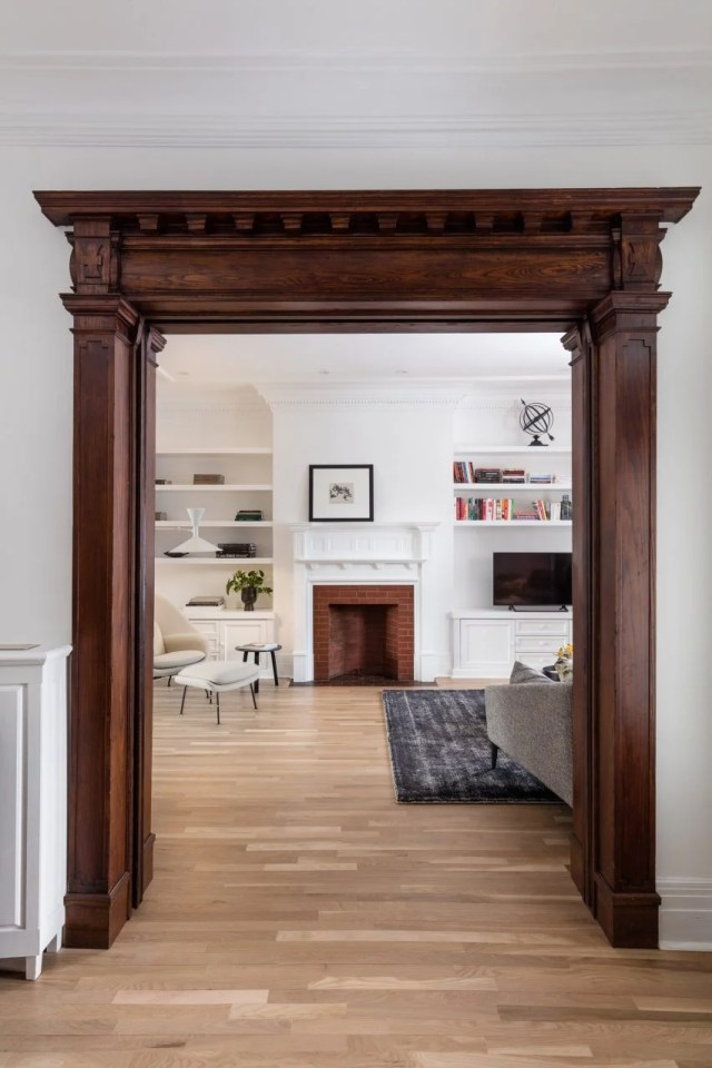 Montreal 1920s Victorian townhouse by Michael Godmer Designer