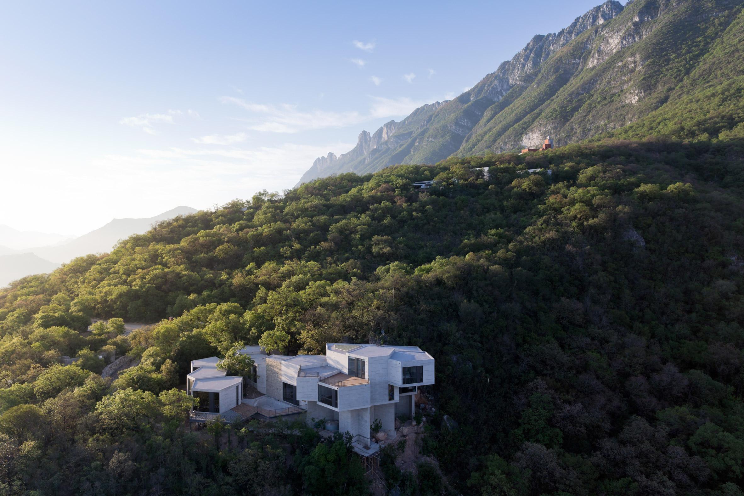 Casa Ventura by Tatiana Bilbao Estudio. Photo is by Iwan Baan