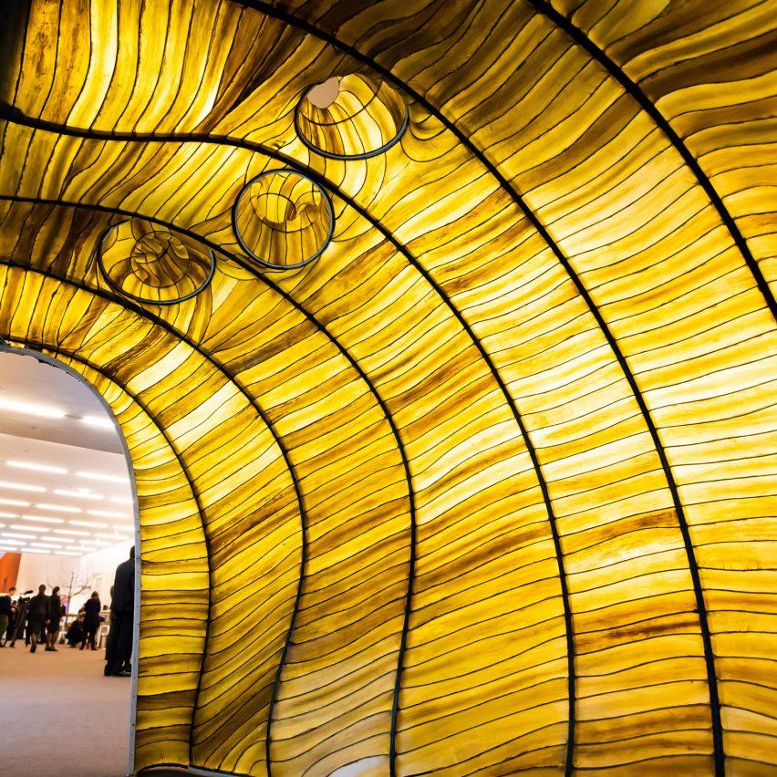 Hidaka Ohmu Julia Lohmann seaweed pavilion