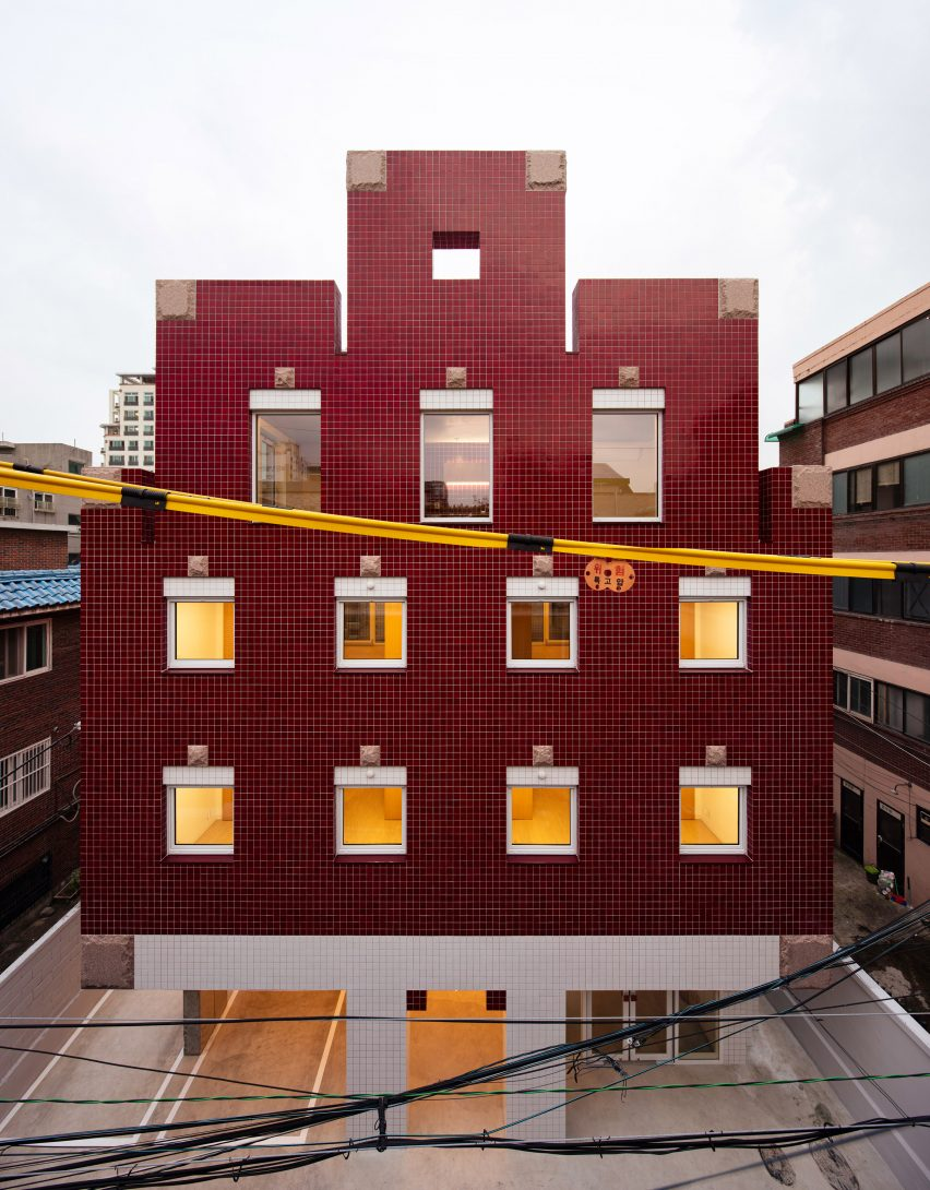Aoa Architects Clads Minecraft Themed Apartments With Pixel