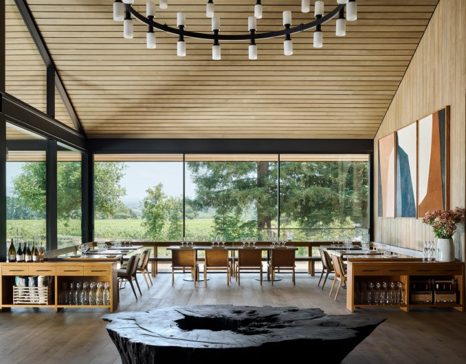 House of Flowers winery by Walker Warner Architects