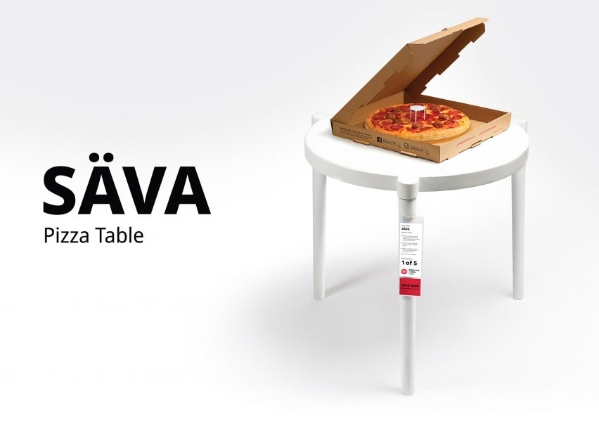 pizza hut and ikea collaborate on real