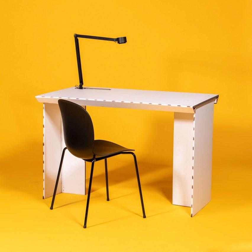Stykka calls it the #StayTheFuckHome Desk