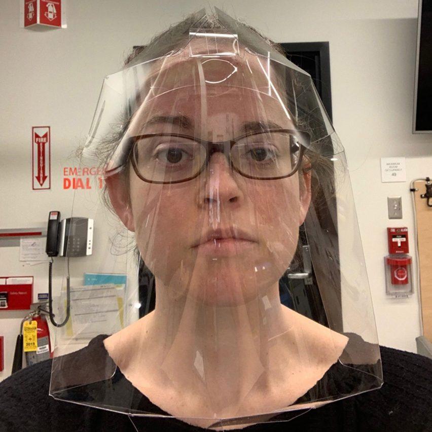 mit disposable single piece face shields design dezeen 2364 sq