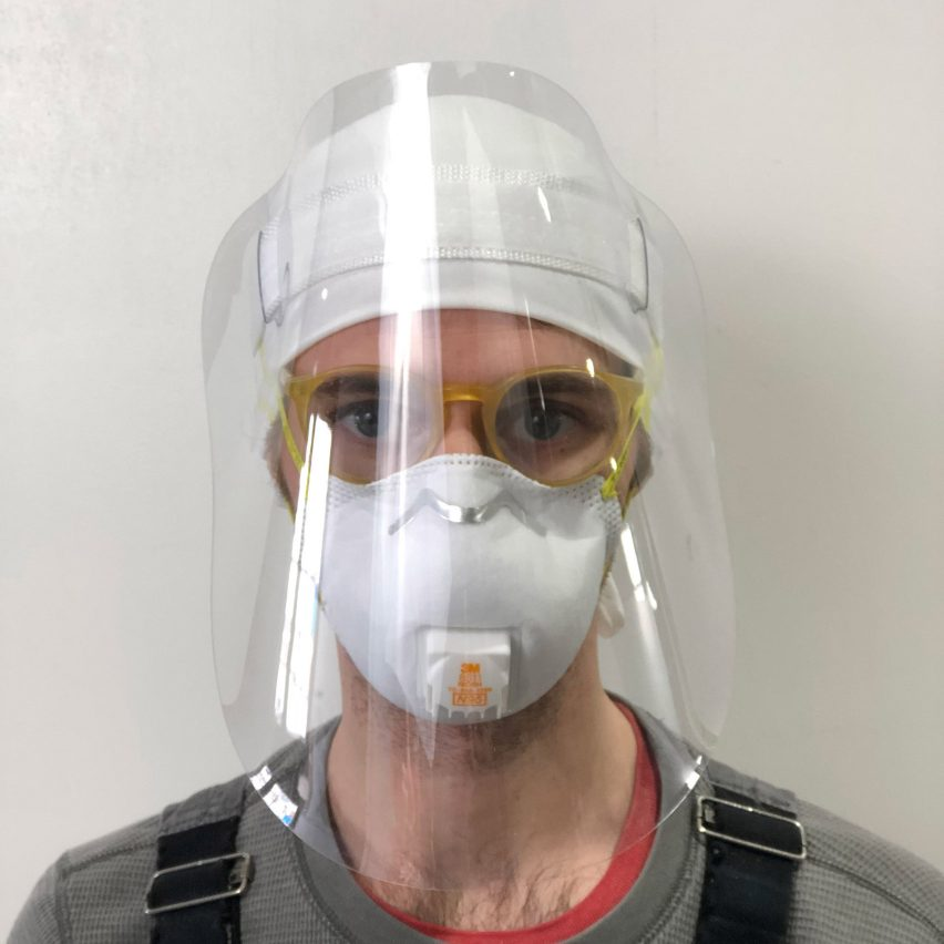 Seven face shields created to protect coronavirus health care workers