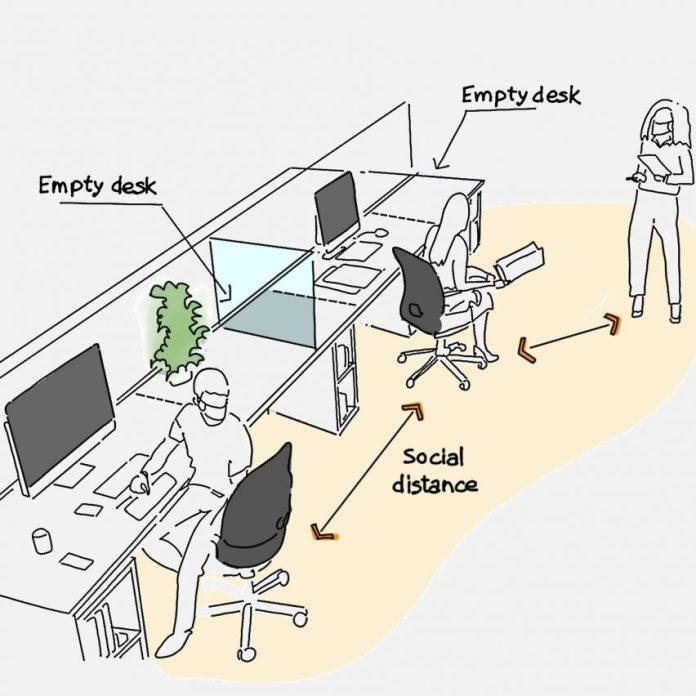 Архитекторы и дизайнеры заглянули в социально удаленное  будущее