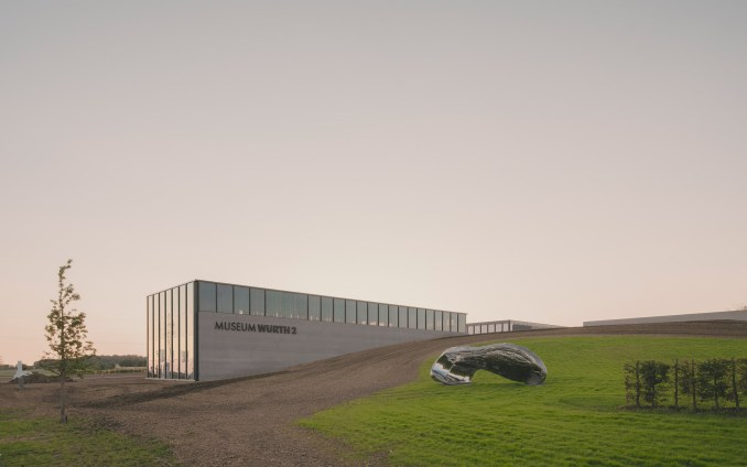 Carmen Würth Forum in Künzelsau, Germany, by David Chipperfield Architects