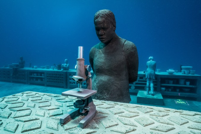 Coral Greenhouse by Jason deCaires Taylor