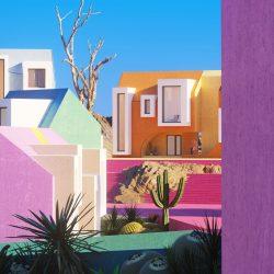 Nine creatives designing dreamy renderings