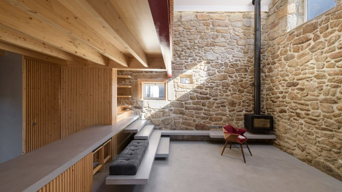 Rural House in Portugal by HBG Architects from rustic interiors roundup