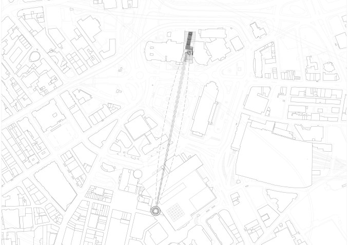 Zip wire Liverpool by DK Architects