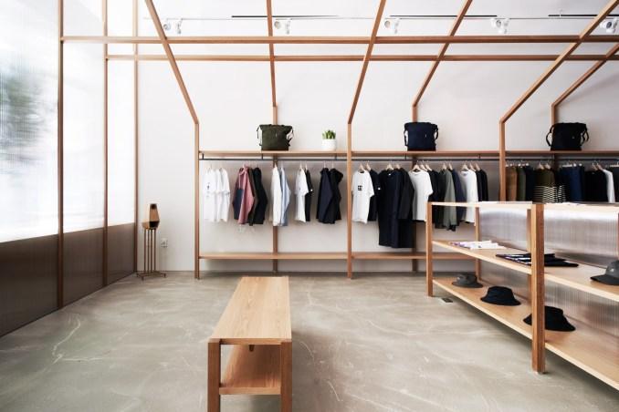 Nanamica store by Taichi Kuma