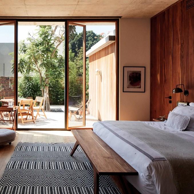 Bedroom in Guadalajara House, Mexico, by Alejandro Sticotti