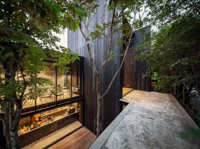 The exterior of IDIN Architects Office in Bangkok, Thailand