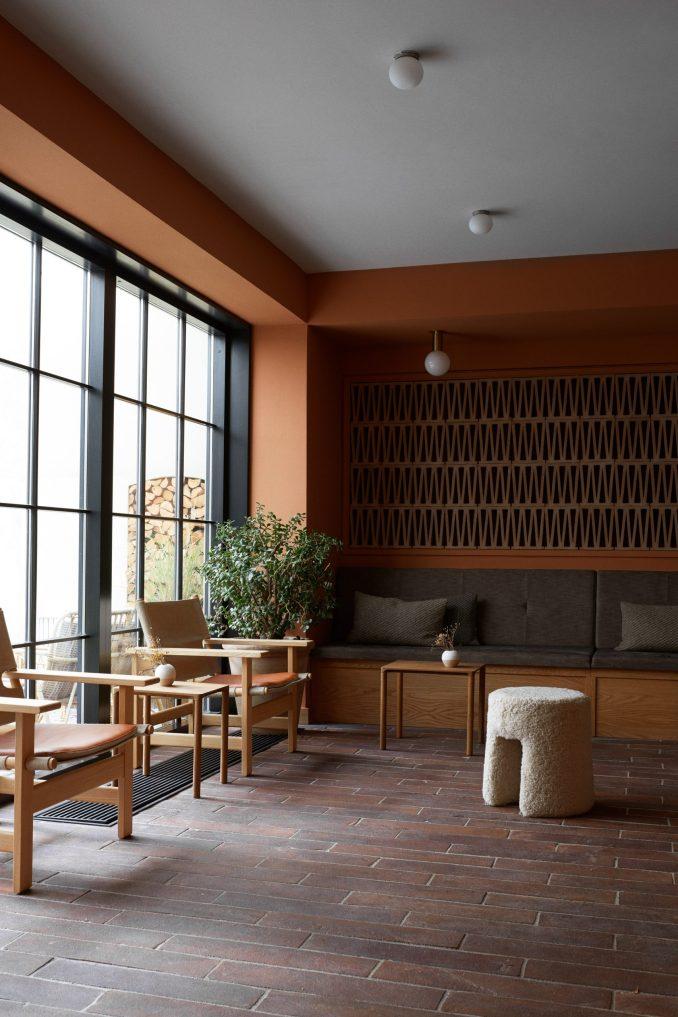 Lounge in Kadeau Copenhagen by OEO Studio