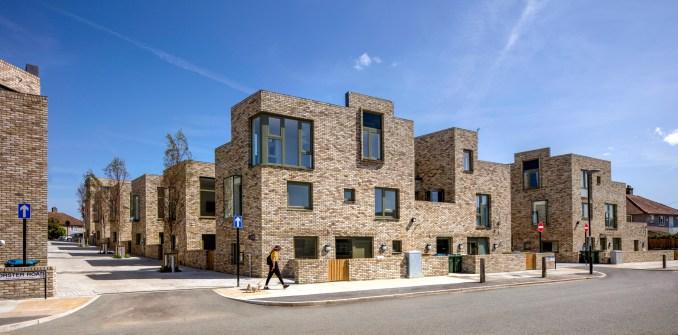 Terrace housing in South London