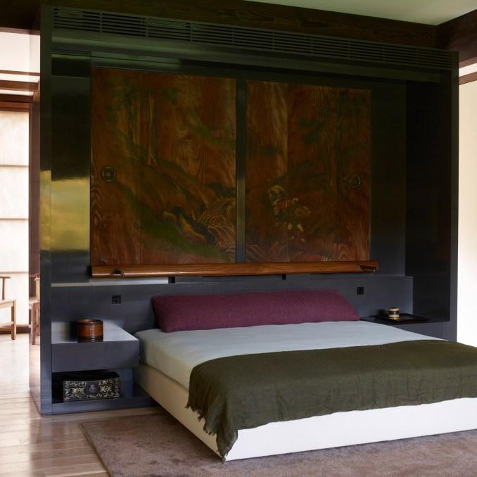 Pound Ridge House bedroom by Tsao & McKown