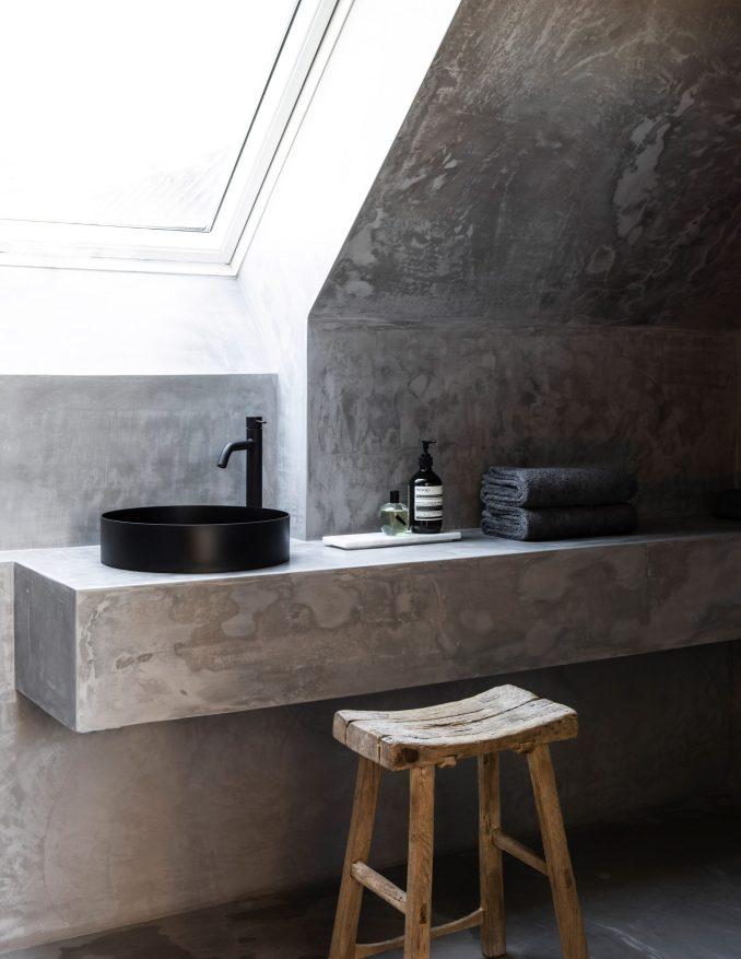 Bathroom of TypeO Loft in Sweden