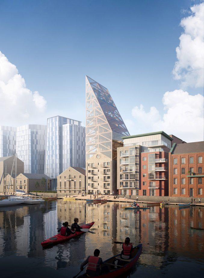 Urban Agency's Dock Mill building in Dublin