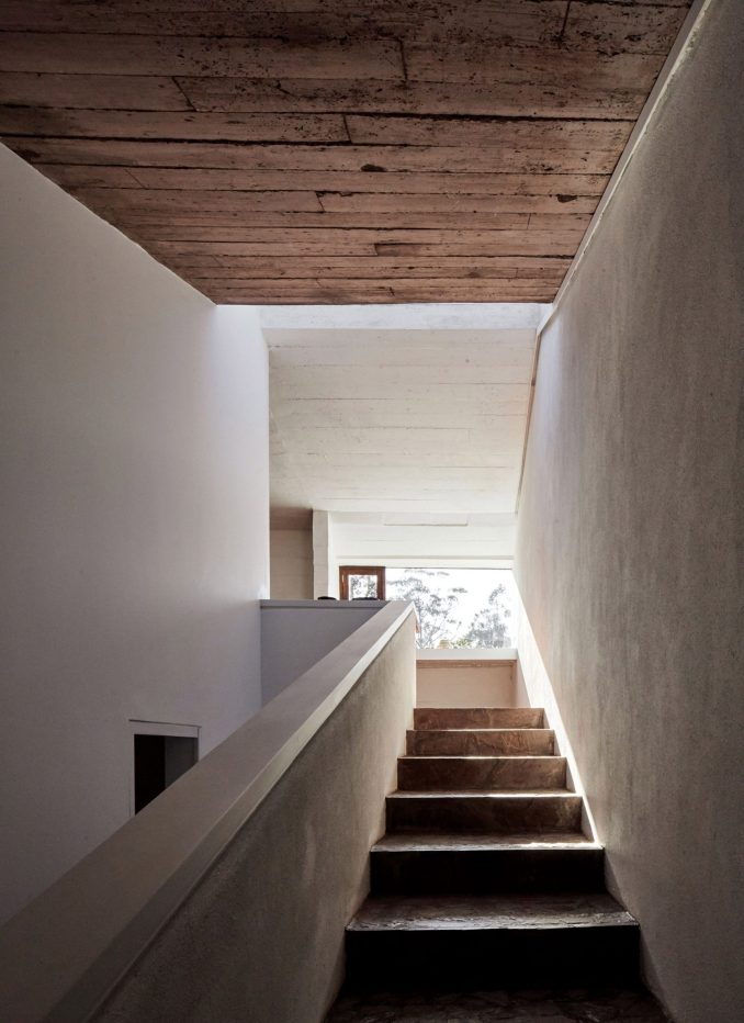 Stairs in Casa Huayoccari by Barclay & Crousse