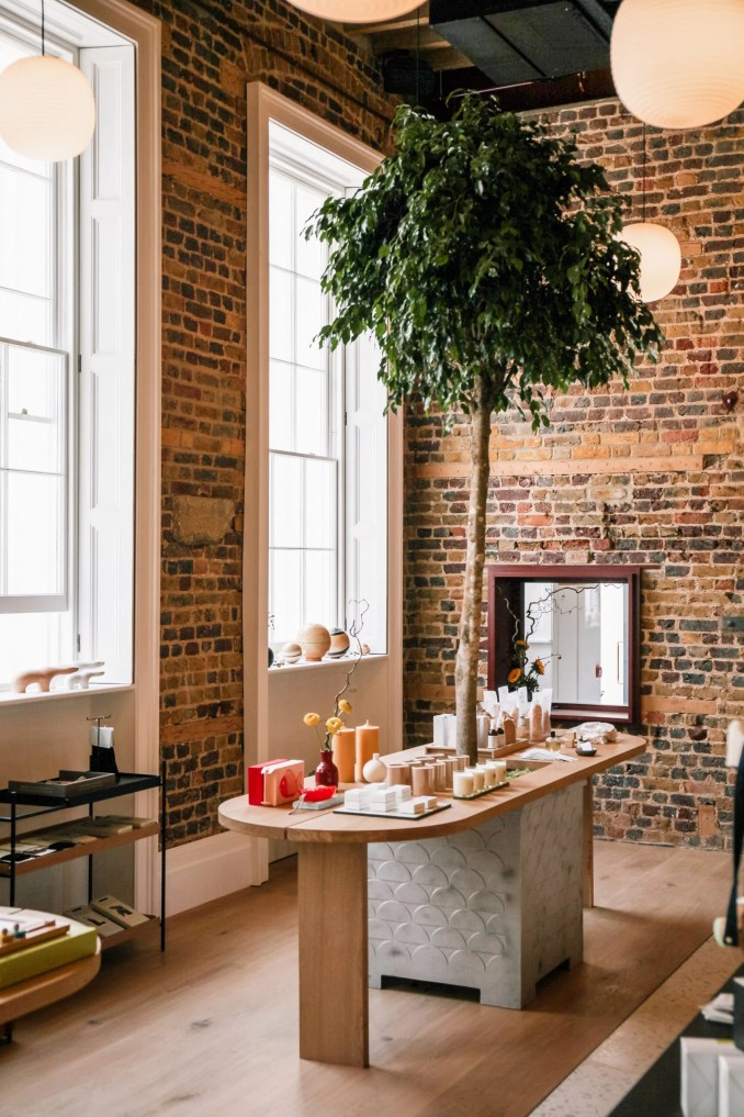 The Edit shop interior of Pantechnicon in London