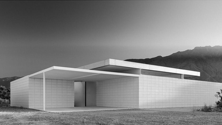 Desert House 1 in Palm Springs, California, by Jim Jennings