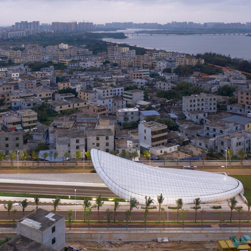 Penda China creates trio of tunnels in Haikou City