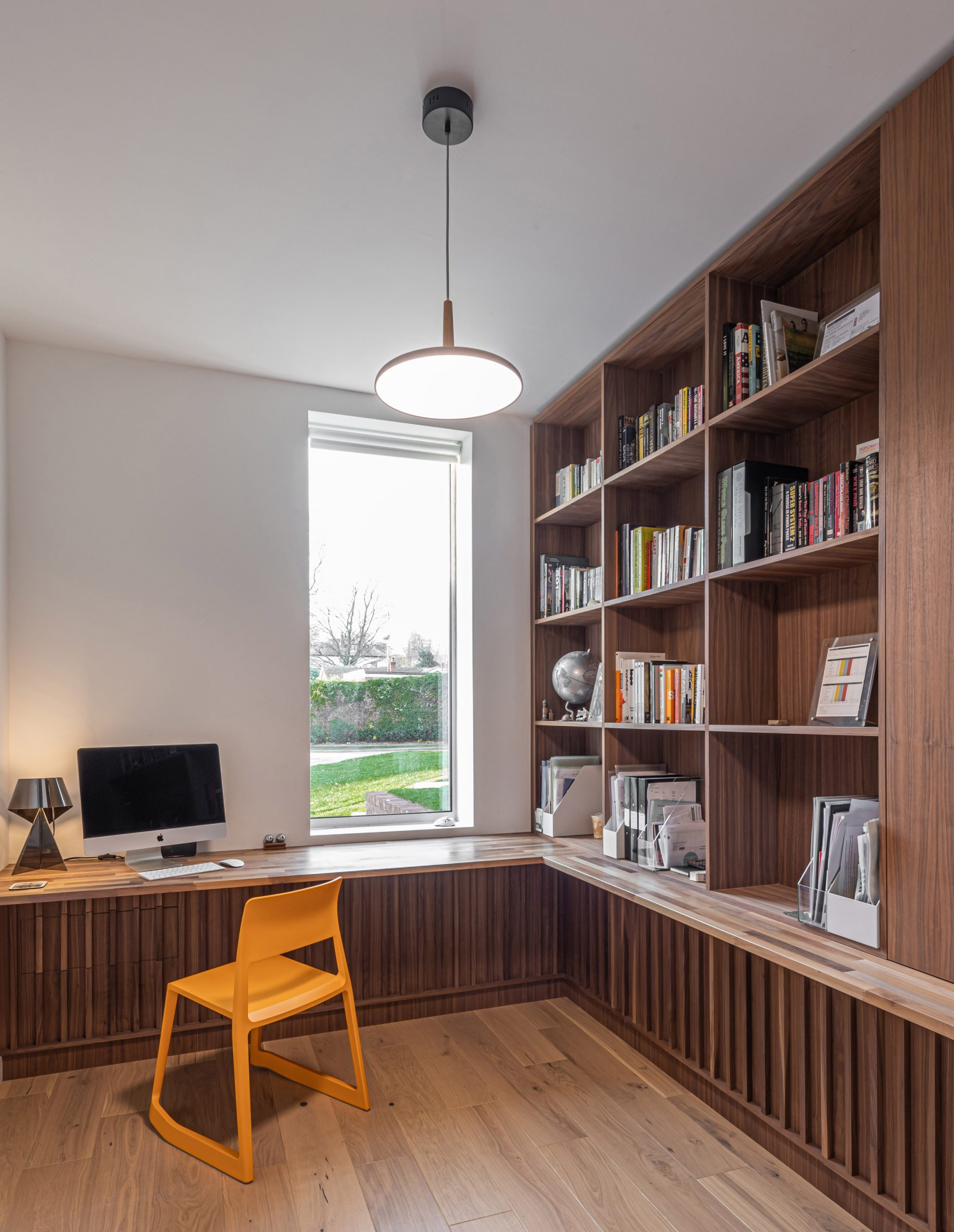 Study in Honey and Walnut House by Intervention Architecture