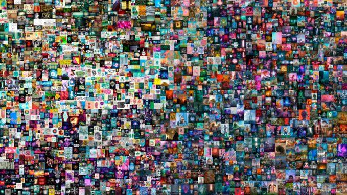 Everydays: The First 5000 Days by Beeple via Christie's