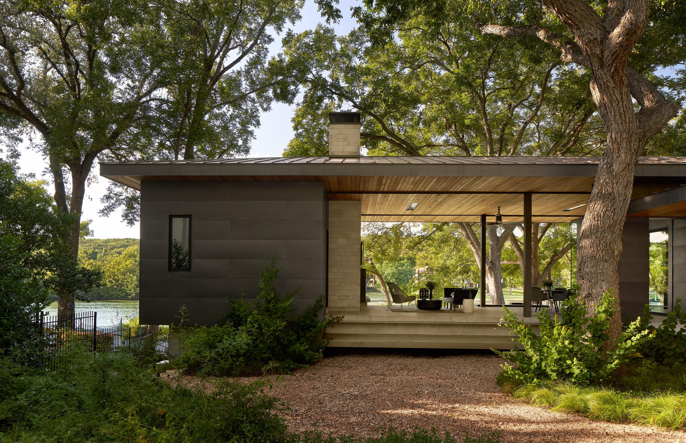 Britt Design Group conceived the interior design