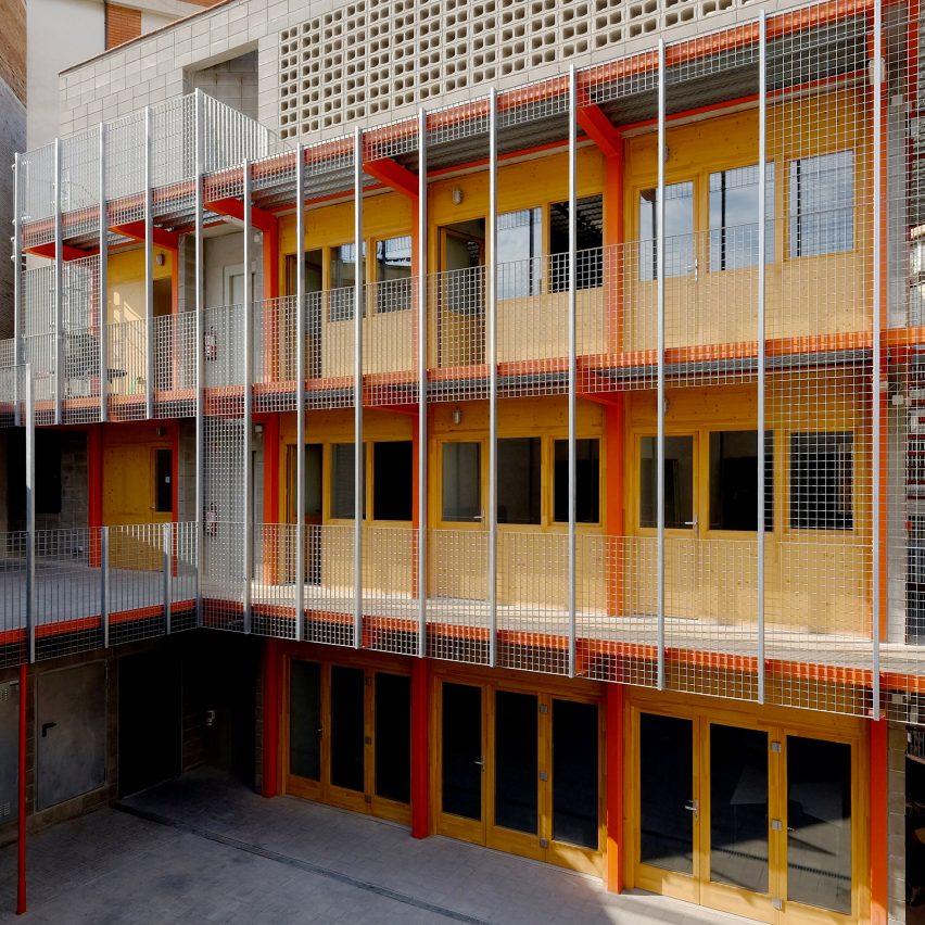 La Comunal workspaces in Barcelona