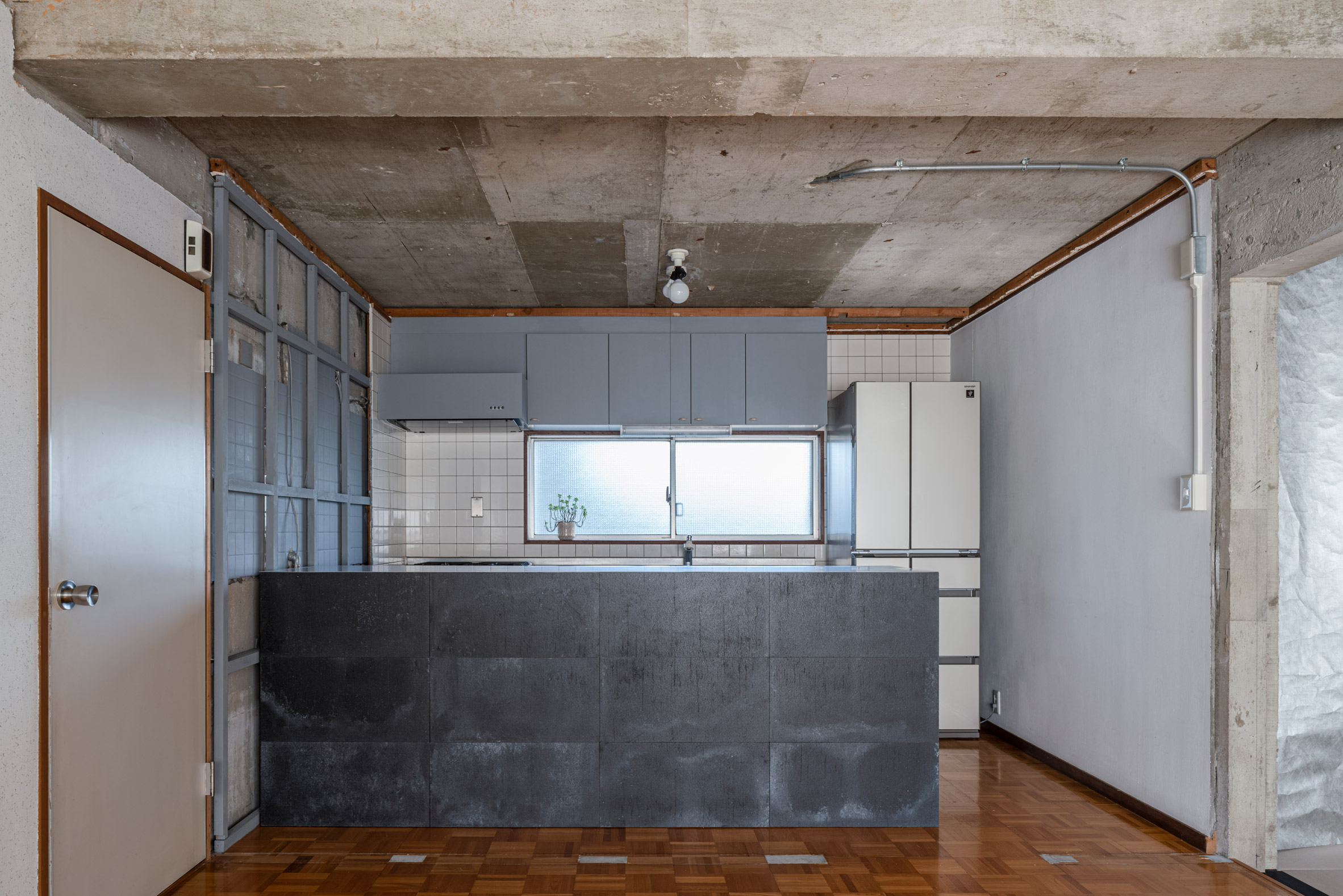 Kitchen in Reception House by Nanometer