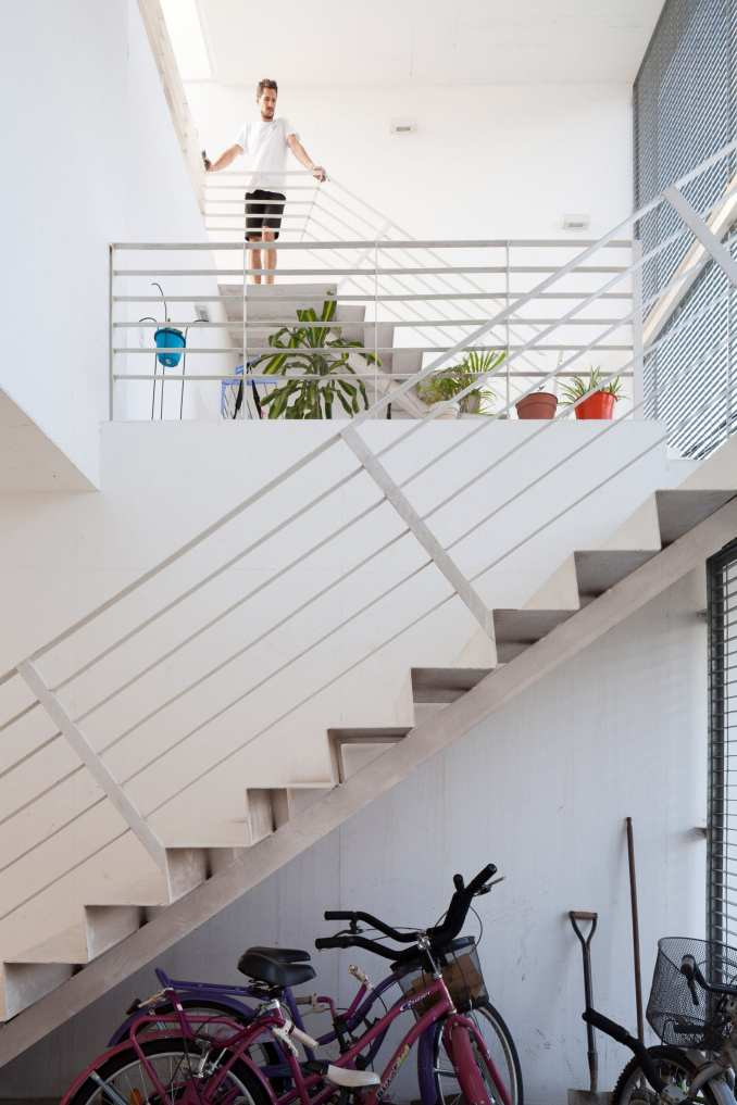 BBOA incorporated staircases into the design