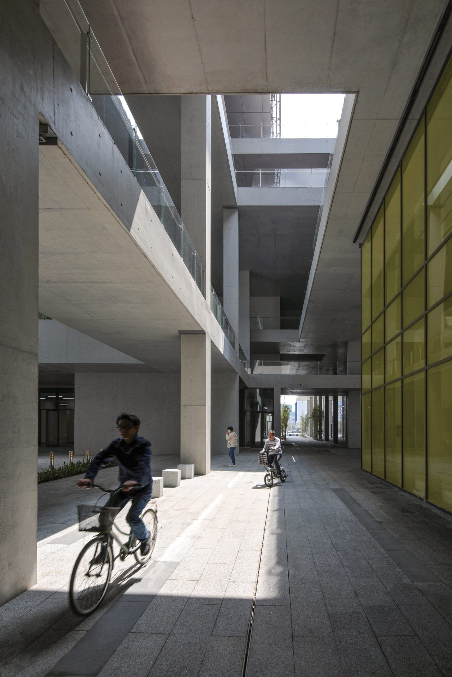 Route through Pingshan Art Museum by Vector Architects