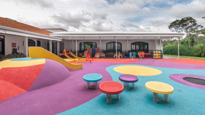 Playground of Red House School by Studio dLux
